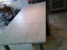 Dull Countertop Restoration