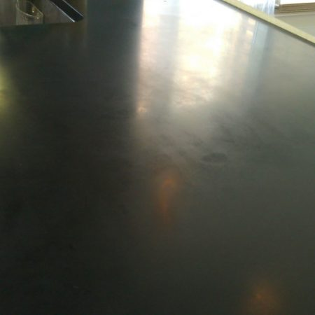 Dull Spots & Scuff Marks on Black Absolute Counter