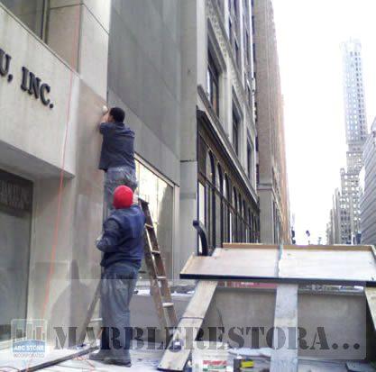 Building Slabs Polishing and Waxing