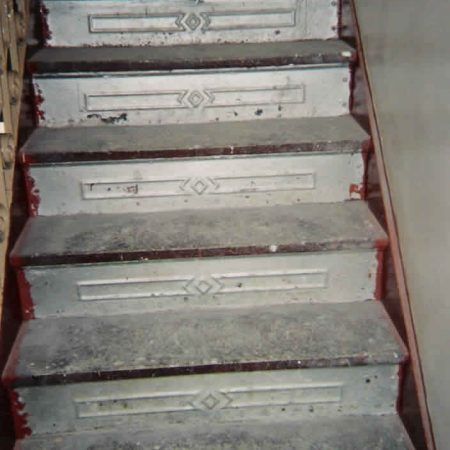 Building's Staircase Before the Steps Replacement