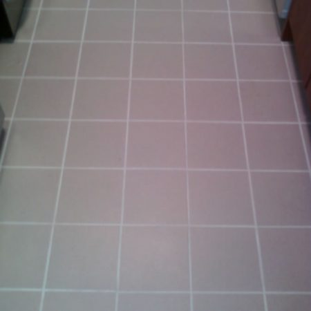 Ceramic Floor Tiles with a New Grout