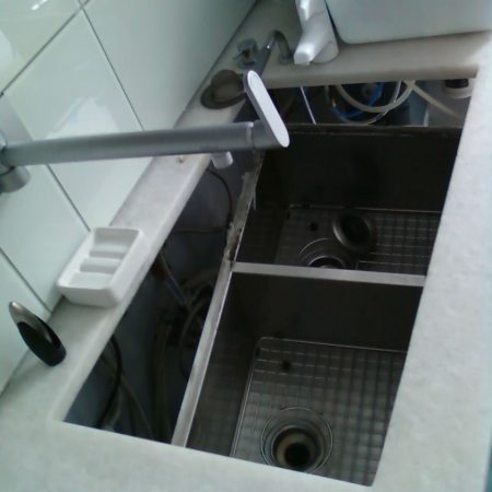Improperly Installed and Sagging Sink