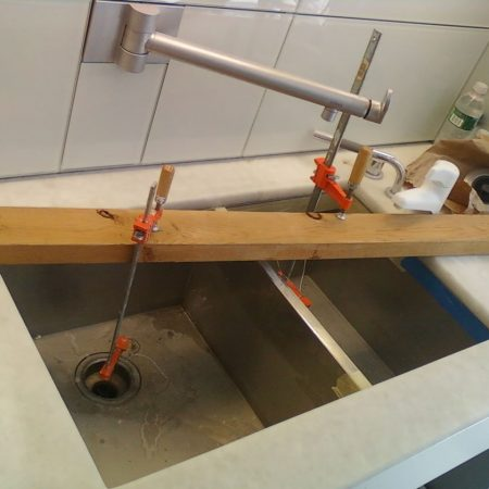 Double Stainless Steel Sink Installation