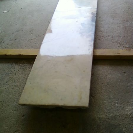 Fixed Marble Fireplace Front Hearth