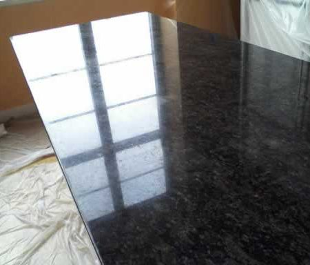 Seam on Granite after Flattening and Repair