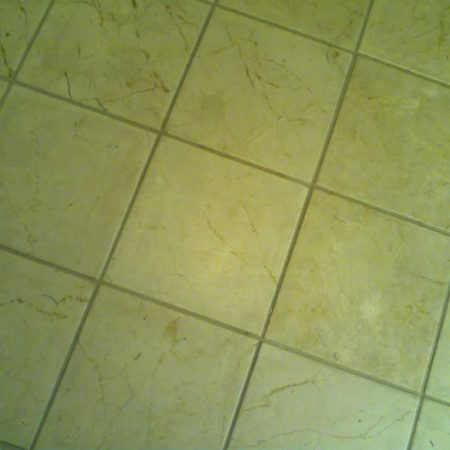 Matte Kitchen Tiles before Cleaning