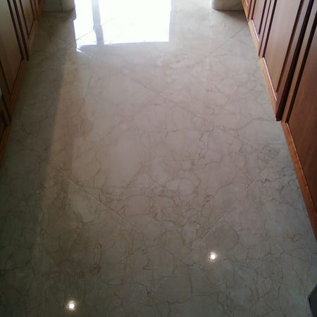 Polished Kitchen Floor
