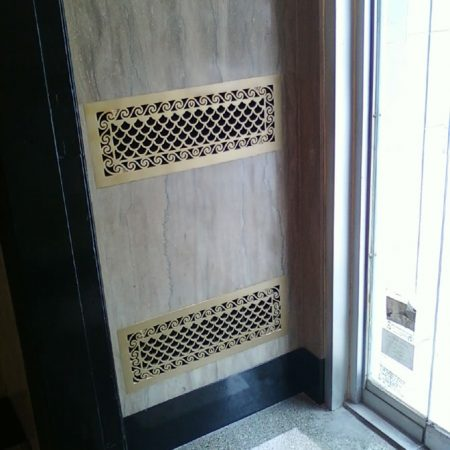 Restored Lobby Foyer Walls