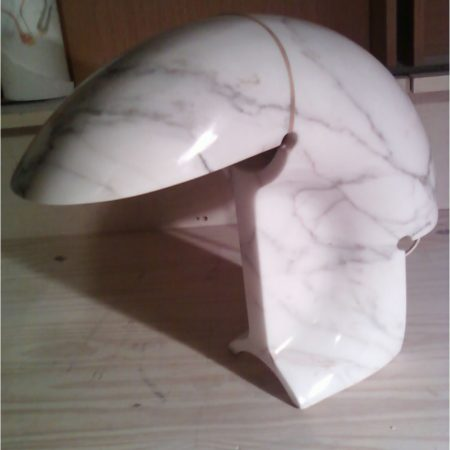 Fixed Cracks on Marble Lamp Base