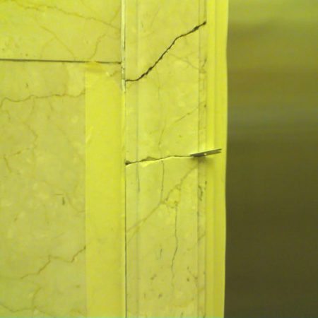 Elevator Оffshoot Crack on Door Frame