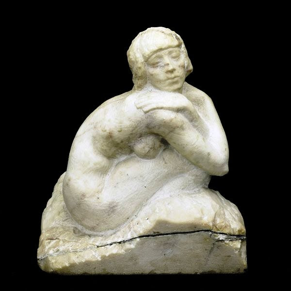 Nude Marble Statue 1927