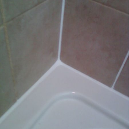 Re-Caulked Bath Tub Top