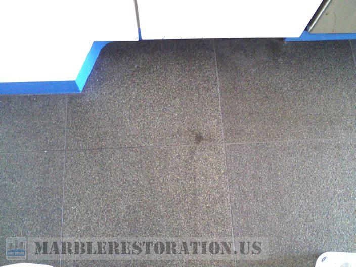 Oily Stains On Granite Floor Tiles Flamed Finish How Do