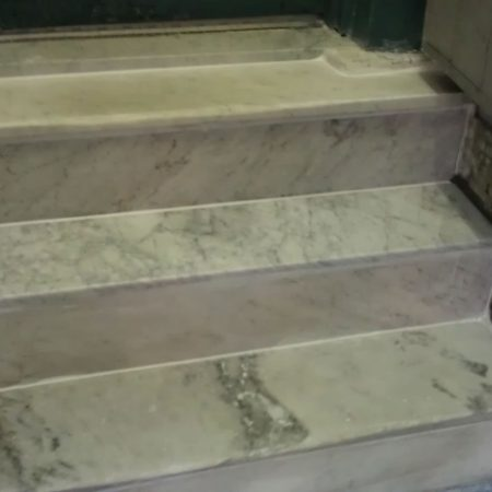 Marble Steps Replacement & Risers Repair