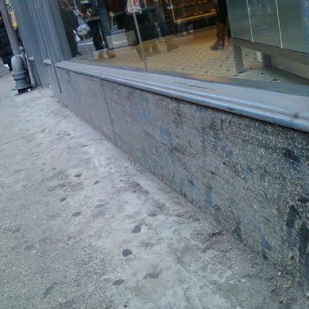 """FRESH"" Store Panels Before Restoration"