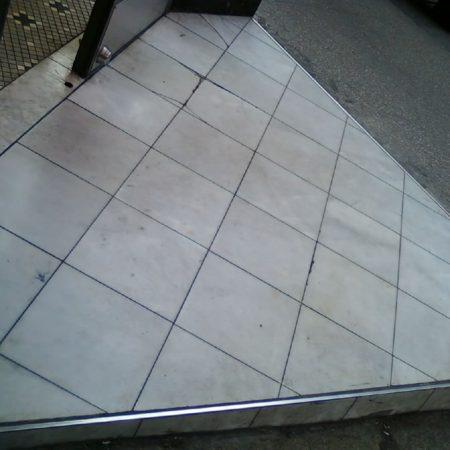 Fresh Store Tiled Step