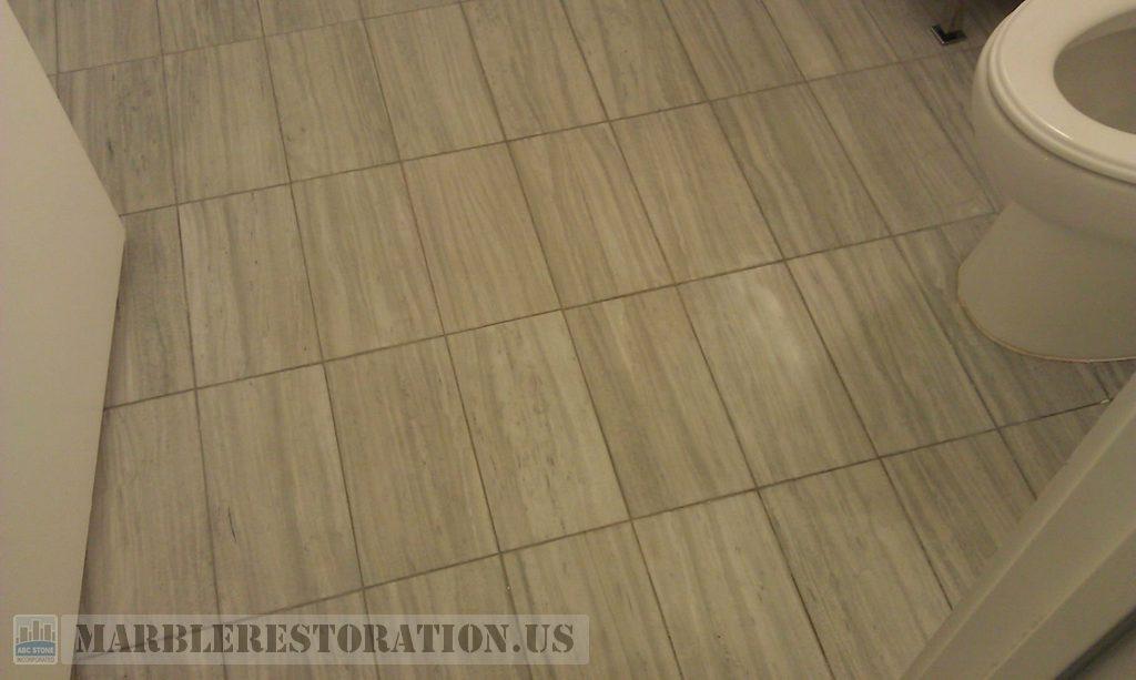 re tiling bathroom floor. Tiled Floor Bathroom. Before Restoration Re Tiling Bathroom