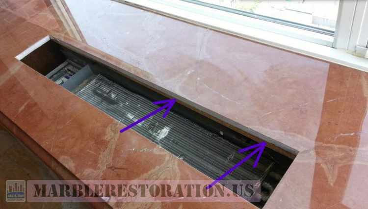 Window Sill Underneath Supporting