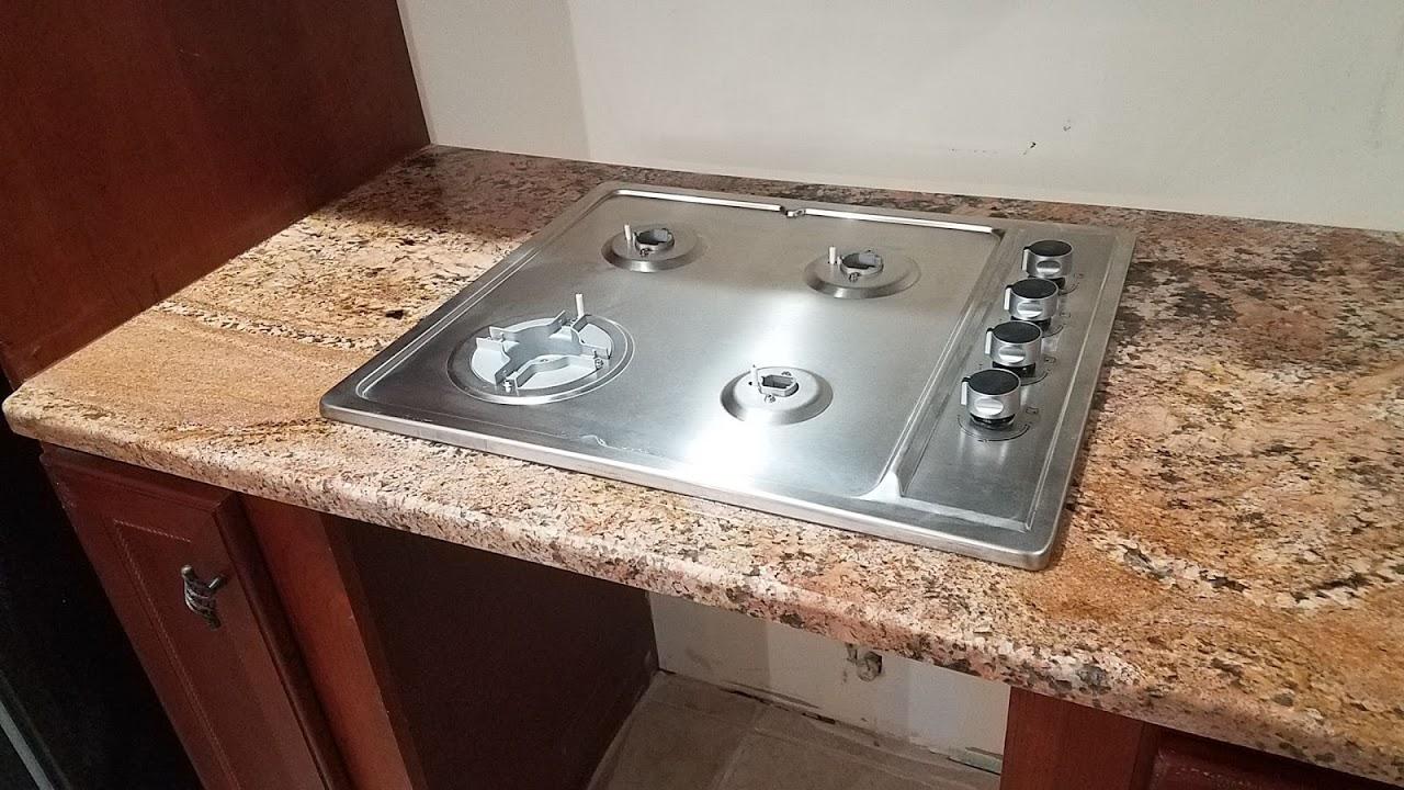Granite Cutout Installed