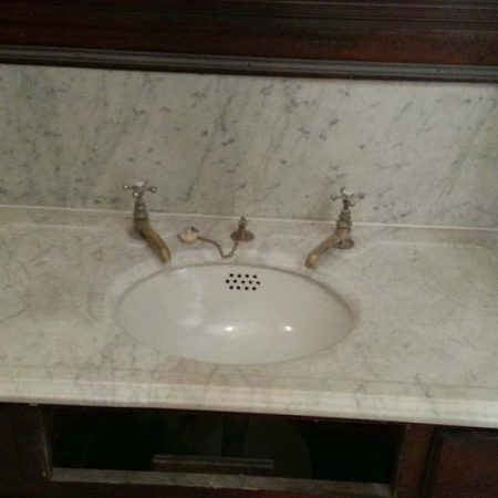 Antique Marble Countertop Restoration