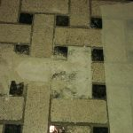 Basket Weave Mosaic Re Installing