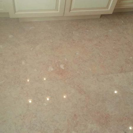 Bathroom Floor Luster Revived Slabs Buffing