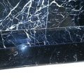 Black Marble With White Veins Cloudy Spots Removal