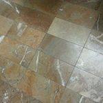 Brownish Yellow Beige No Shine Bathroom Floor