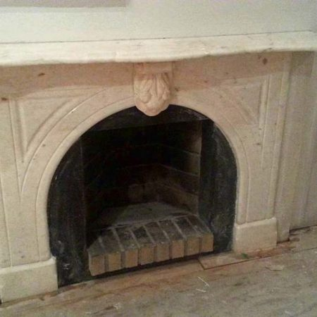 Surroundings Fireplace Cleaned and Polished