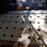 Brownstone House Foyer Floor Appearance Renewed