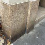 Building Facade Granite Blocks Cleaning
