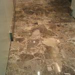 Dark Emperador Bathroom Tiles Polishing