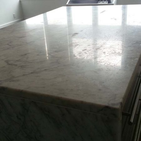 Etched Specks on Countertop before Honing