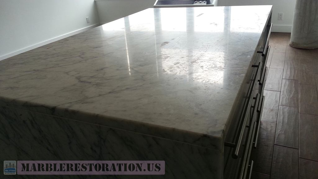 Water Spots Or Etched Rings On Countertop Surface Removal