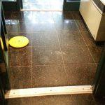 Glanite Lobby Floor Before Polishing