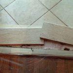 Kitchen Broken In Half Door Saddle Re Bonding