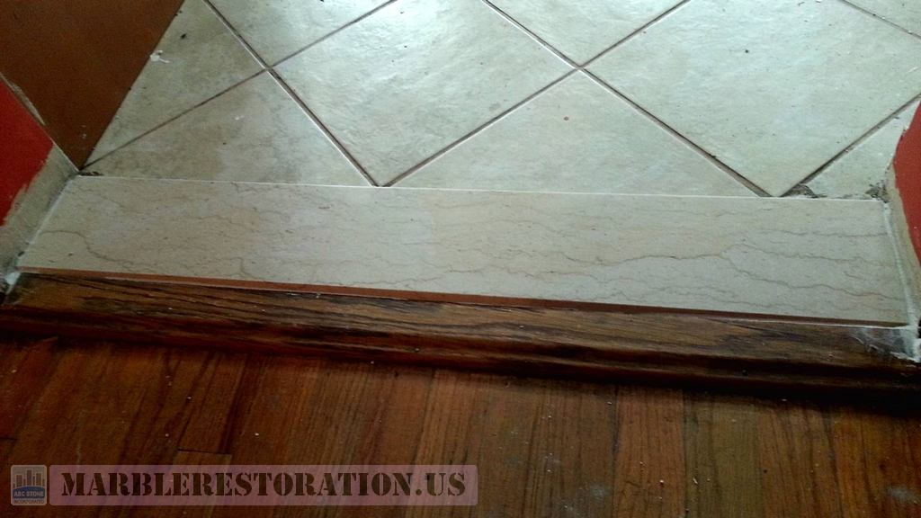 Kitchen Door Saddle Seamless Repair Threshold