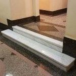 Lobby Marble Steps Restoration