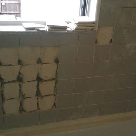 Loosen Ceramic Tiles Re Setting