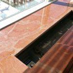 Marble Window Sill Gash Cracks