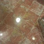 Multicolor Bathroom Floor Buffing