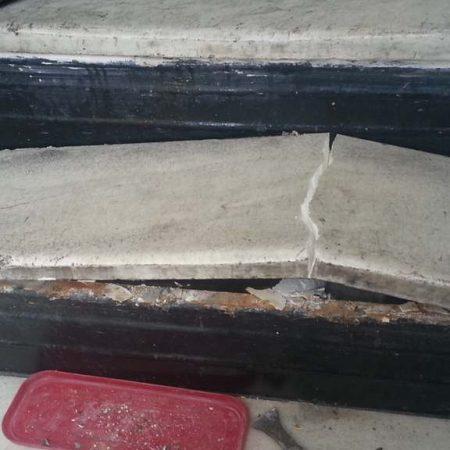 Old Step Demolishing