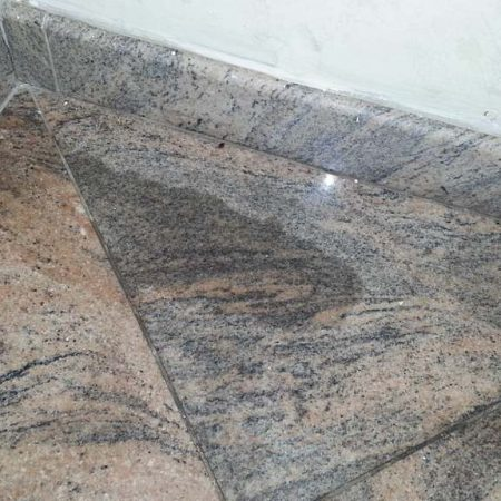 Undesired Organic Stain on Granite Tiles