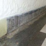 Terrazzo Lobby Under Radiator Damage
