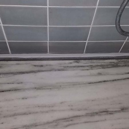 Thick Grout Line Applied