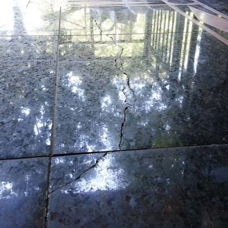 Ubatuba Granite Cracked Floor Tiles