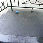 Ubatuba Dull Opaque Granite Porch