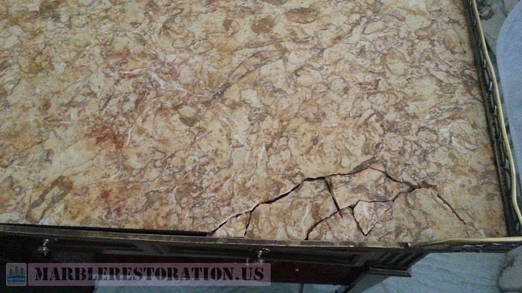 Have a Broken Table? Marble Table Top Restoration is the