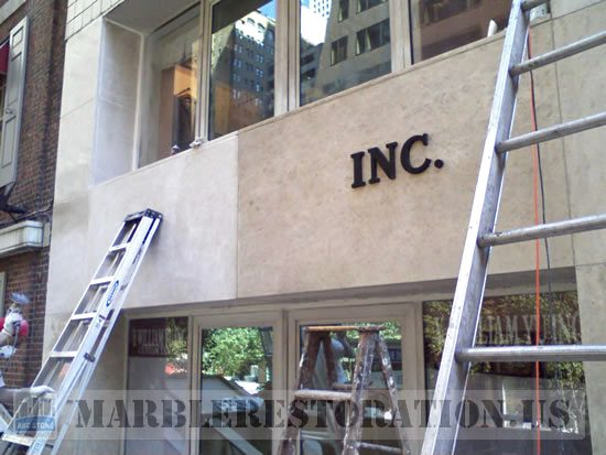 Building Store Front Restoration