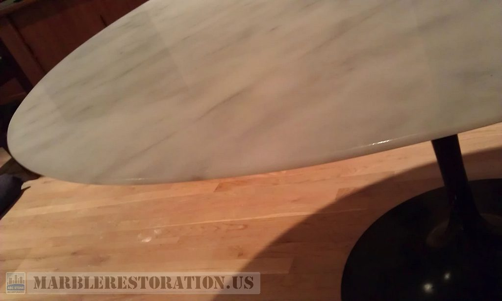 Chips Removal from Table Edge